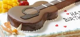 Mãn nhãn với những mẫu bánh sinh nhật hình đàn guitar