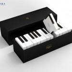 Trong cuộc đua giành Giải thưởng Thiết kế A' Design Award 2017, thương hiệu bánh Marais Perle đã góp mặt tranh tài với thiết kế bao bì lấy cảm hứng từ đàn piano hết sức sáng tạo và bắt mắt.