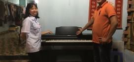 OKAKA giao đàn piano điện Roland RP-302 cho chị Sa ở Nhơn Trạch, Đồng Nai