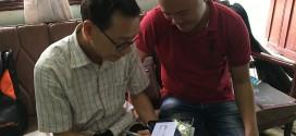OKAKA giao đàn piano điện Yamaha Clavinova CVP-605 cho anh Quang ở Gò Vấp