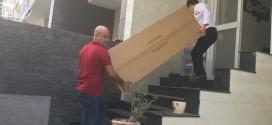 OKAKA giao đàn piano điện Roland RP-302 cho anh Châu ở Quận 7, TPHCM