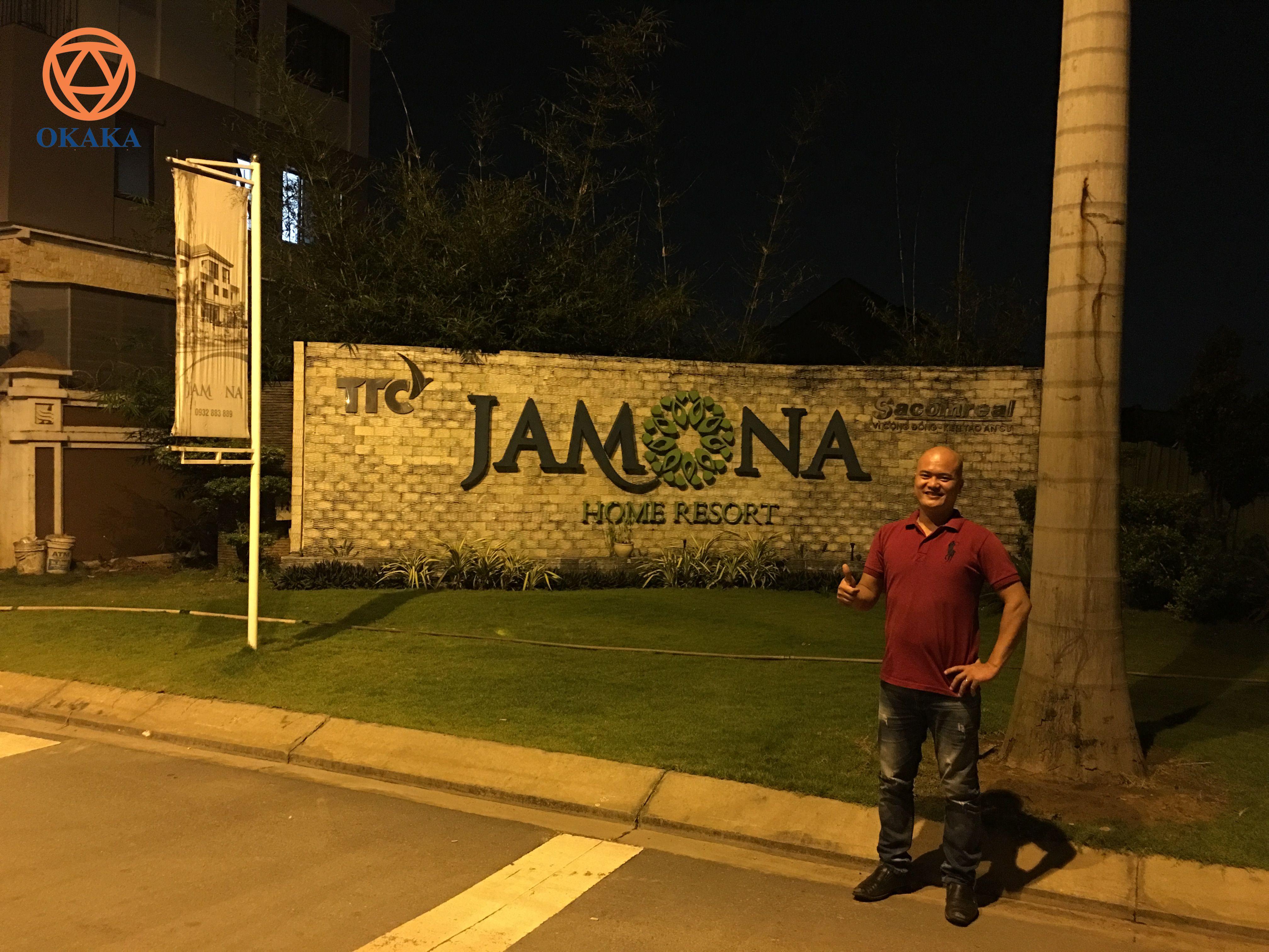 Chiều tối hôm qua, OKAKA đã giao đàn piano điện Roland RP-501R cho anh Bình ở khu dự án Jamona Home Resort thuộc phường Hiệp Bình Phước, quận Thủ Đức.