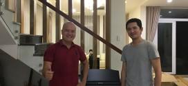 OKAKA giao đàn piano điện Roland RP-501R cho anh Bình ở Jamona Home Resort, Thủ Đức