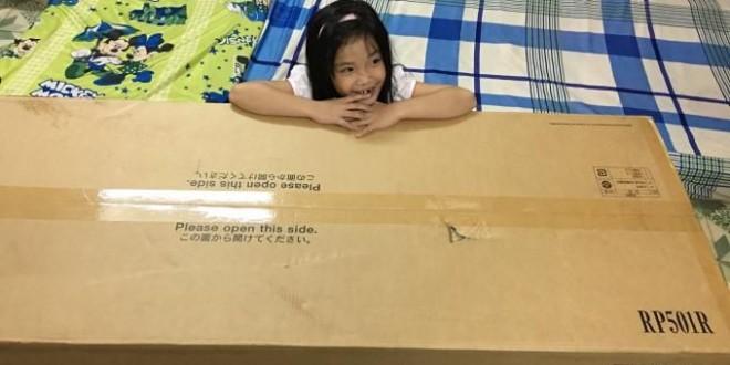 OKAKA giao đàn piano điện Roland RP-501R cho anh Liêm ở Tân Bình