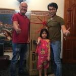 Giáng Sinh năm nay, OKAKA đã có chuyến giao đàn piano điện Yamaha YDP-143 cho anh Vũ ở Vũng Tàu.