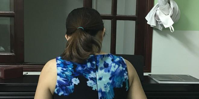 OKAKA giao đàn piano điện Yamaha YDP-163 cho chị Khanh ở Gò Vấp