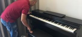 OKAKA giao đàn piano điện Yamaha YDP-163 cho chị Ngọc ở Vinhomes Bình Thạnh