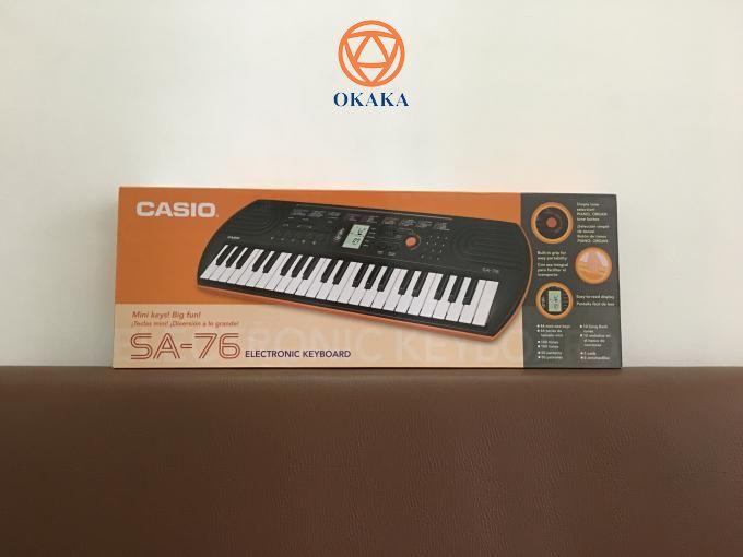 Trên hành trình chinh phục khách hàng, có những vị khách rất dễ mến khiến OKAKA thật sự ấm lòng. Như trường hợp anh Tuấn ở Kon Tum mua đàn organ mini Casio SA-76 cho con là một ví dụ điển hình. Và hôm qua OKAKA đã giao đàn cho anh.