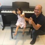 Chiều tối hôm qua, OKAKA đã đến giao đàn piano điện Roland RP-302 cho chị Hương ở khu chung cư Lexington Residence, phường An Phú, quận 2.