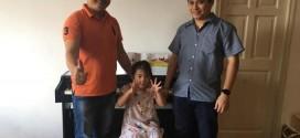 OKAKA giao đàn piano điện Roland RP-501R cho anh Hải ở chung cư Mỹ Phước, Bình Thạnh