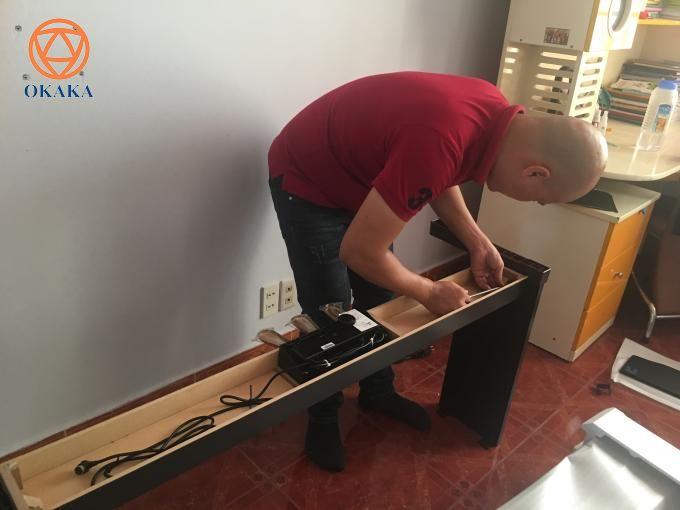 Chiều hôm qua, OKAKA đã đến giao đàn piano điện Roland RP-501R cho chị Nhung ở Bình Thạnh - một cô gái trẻ nhưng đầy tình yêu với âm nhạc.