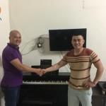 Hôm qua OKAKA đã đến giao đàn piano điện Yamaha YDP-163 cho chị Thư ở quận 7.