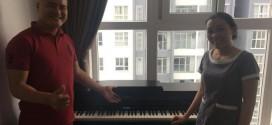 OKAKA giao đàn piano điện Roland HP-603 cho chị Quỳnh ở chung cư Silver Star, Nhà Bè