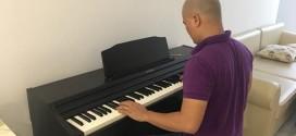 OKAKA giao đàn piano điện Roland RP-501R cho anh Nghị ở chung cư Mỹ Đức, Bình Thạnh