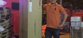OKAKA giao đàn piano điện Roland RP-501R cho anh Quốc ở Nha Trang