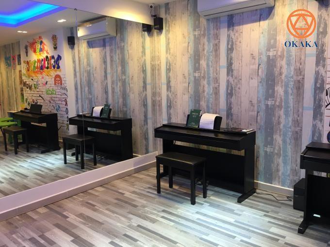 Hôm nay OKAKA đã đến giao đàn piano điện Yamaha YDP-143 lần 2 cho chị Trang ở Tân Bình.