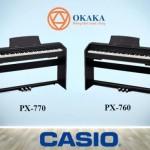 Casio PX-770 là một trong những model đàn piano điện dòng Privia mới ra mắt năm 2018. Điều gì làm cho đàn piano điện Casio PX-770 Privia trở nên đặc biệt? Trước tiên phải kể đến đây là chiếc đàn piano điện mới duy nhất có giá thành rẻ nhất trong số 4 nhà sản xuất piano điện uy tín hàng đầu (Casio, Yamaha, Roland và Kawai).
