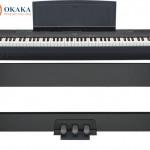 """Trong bài review này, chúng ta sẽ khảo sát một trong những sản phẩm mới nhất của Yamaha trong dòng P-series (P là viết tắt của """"portable"""") – model đàn piano điện P-115. Thay thế cho model bán chạy trước đó của Yamaha là P-105, đàn piano điện Yamaha P-115 có nhiều tính năng tương tự P-105 và P-255 (sẽ thảo luận sâu hơn ở phần sau). Chúng ta cũng sẽ thảo luận về ưu nhược điểm của P-115 để bạn có thể quyết định đây có phải là cây đàn piano xứng đáng để bạn đầu tư thời gian và tiền bạc hay không."""