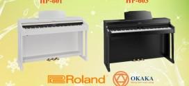 So sánh đàn piano điện Roland HP-601 và HP-603
