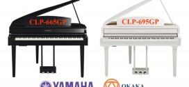 So sánh đàn piano điện Yamaha CLP-665GP và CLP-695GP