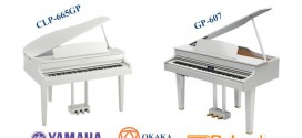 So sánh đàn piano điện Yamaha CLP-665GP và Roland GP-607
