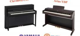 Sự khác nhau giữa dòng đàn piano điện Yamaha Clavinova CLP và Arius YDP